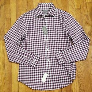 NWT Michael Kors Mens Dress Shirt Slim Fit